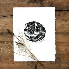 Gravure sur bois le lérot