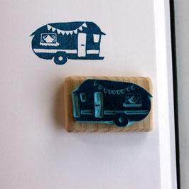 Tampon caravane vintage