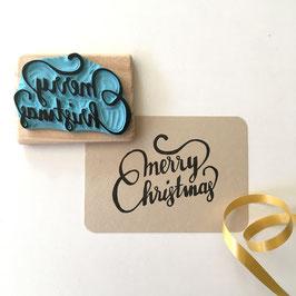 """Tampon """"Merry Christmas"""""""