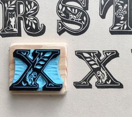 Tampon lettre X pour Xérus