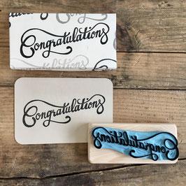 """Tampon """"Congratulations"""""""
