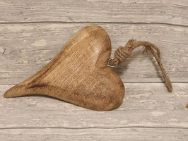 Herz Anhänger Holz
