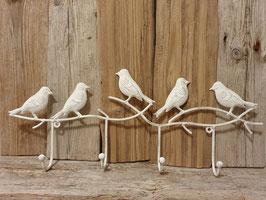 Garderoben mit Vögeli