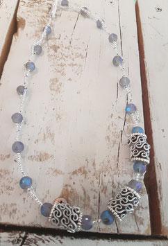 Halskette  mit Nespresso Perlen 45cm