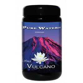 Lotus Vulcano Zeolith Fein 250 Gramm im Violettglas