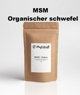 MSM 100% Organischer Schwefel 500g