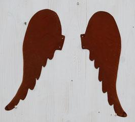 Flügelpaar, geschwungen