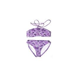 RAINBOW: Meerjungfrauen-Bikini 2teilig