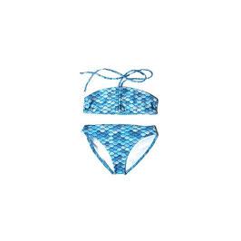 BLUE: Meerjungfrauen-Bikini 2teilig