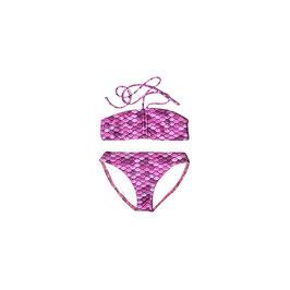 PINK: Meerjungfrauen-Bikini 2teilig