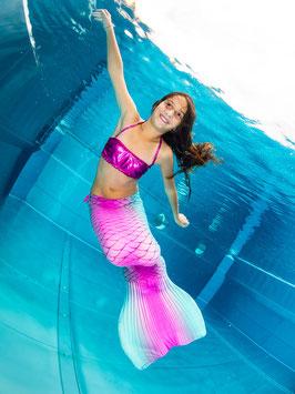 Meerjungfrauen-Schminken für Kinder