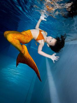 Meerjungfrauen-Geburtstag mit Leihkamera