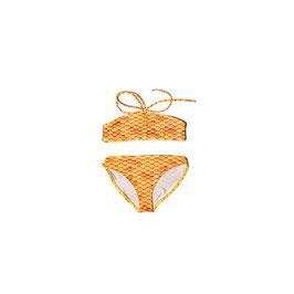 GOLD: Meerjungfrauen-Bikini 2teilig