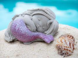 Meerjungfrauen-Figur Beton handmade