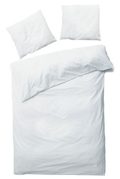 Modul 1 - Betten Set - Decke, Kopfkissen, Laken, Bettbezug mit Matratzenschoner