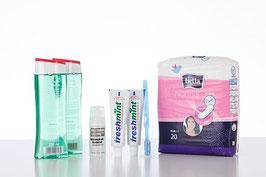 Hygiene-Set Frauen für 7 Tage - Standard