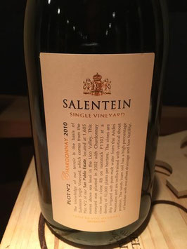 Bodegas Salentein Single Vineyard Chardonnay Pilot 2 2010