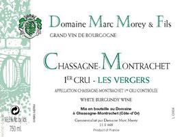 Marc Morey Chassagne Montrachet 1er Cru Les Vergers