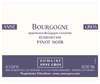 Anne Gros Pinot Noir 2013