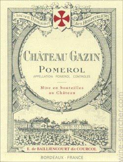 Château Gazin Pomerol 2011