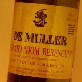 De Muller, priorat do solera 1918, priorato 'Dom Berenguer'