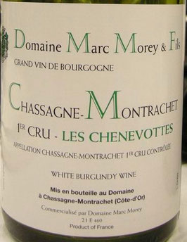 Marc Morey Chassagne Montrachet 1er Cru Les Chenevottes 2012