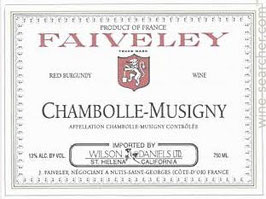 Domaine Faiveley Chambolle Musigny AC 2014