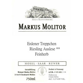 Markus Molitor Erdener Feinherb Auslese 2005