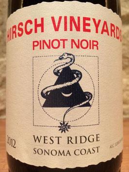 Hirsch Winery Pinot Noir West Ridge