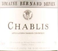 Bernard Defaix Chablis 2016