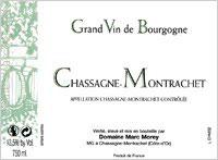 Marc Morey Chassagne-Montrachet 1er Cru Les Chenevottes 1/2
