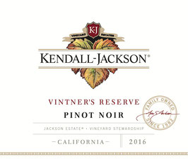 Kendall Jackson Vintner's Res. Pinot Noir 2016