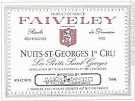 Domaine Faiveley N. St. Georges 1er Cru Les Porets St. Georges 2015