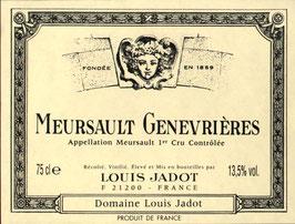 Domaine Louis Jadot Meursault 1er Cru Genevrières Jadot