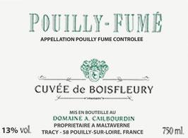 Domaine Cailbourdin - Pouilly-Fumé Cuvée de Boisfleury