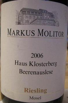 Markus Molitor Haus Klosterberg Beerenauslese 37,5cl 2006