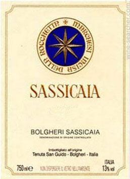 Tenuta San Guido Bolgheri Sassicaia 2014