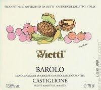 Vietti Barolo Castiglione 2012