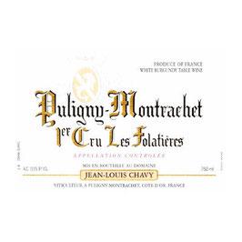 Jean Louis Chavy -Puligny- Montrachet 1er Cru Les Folatières 2016