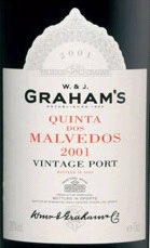Graham's Quinta dos Malvedos Vintage Port (in luxe kist) 75 cl