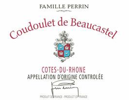 Coudoulet de beaucastel Côstes du rhône rouge 2017