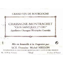 Michel Niellon Chassagne-Montrachet Clos Saint-Jean 1er Cru