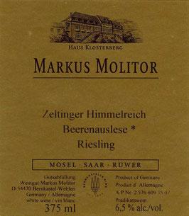 Markus Molitor Zeltinger Himmelreich Beerenauslese Riesling 2005 37,5 cl
