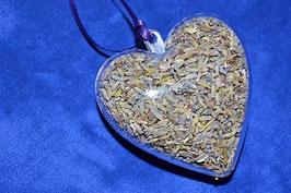 2.01 Geschenkanhänger mit Lavendelblüten