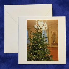 300.210 Blanko Grusskarte Weihnachten