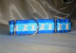 Little Icebears-königsblau, Martingale 4 cm