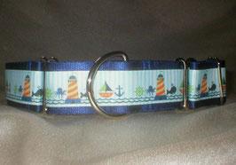 Nordsee-marine-blau, Martingale 4 cm