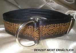 Ornament-schwarz, Zugstopp 4 cm