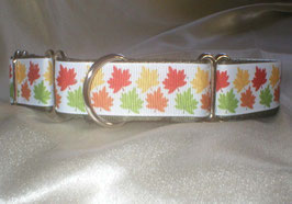 Autumn leaves-oliv, Martingale 2,5 cm