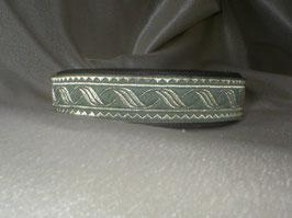Düne-schwarz, Klickverschluss,  2,5 cm